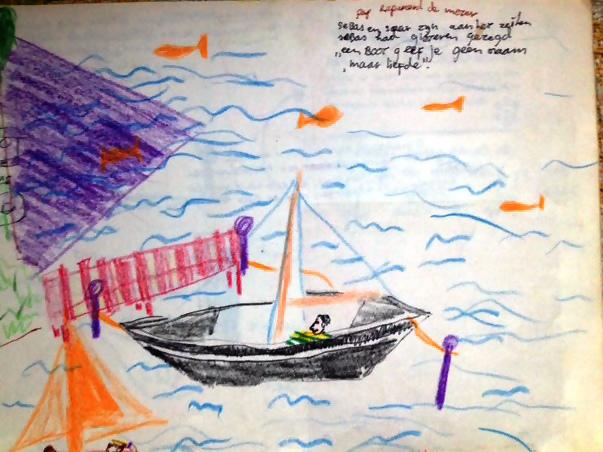Sebas zegt: Een boot geef je geen naam, maar liefde