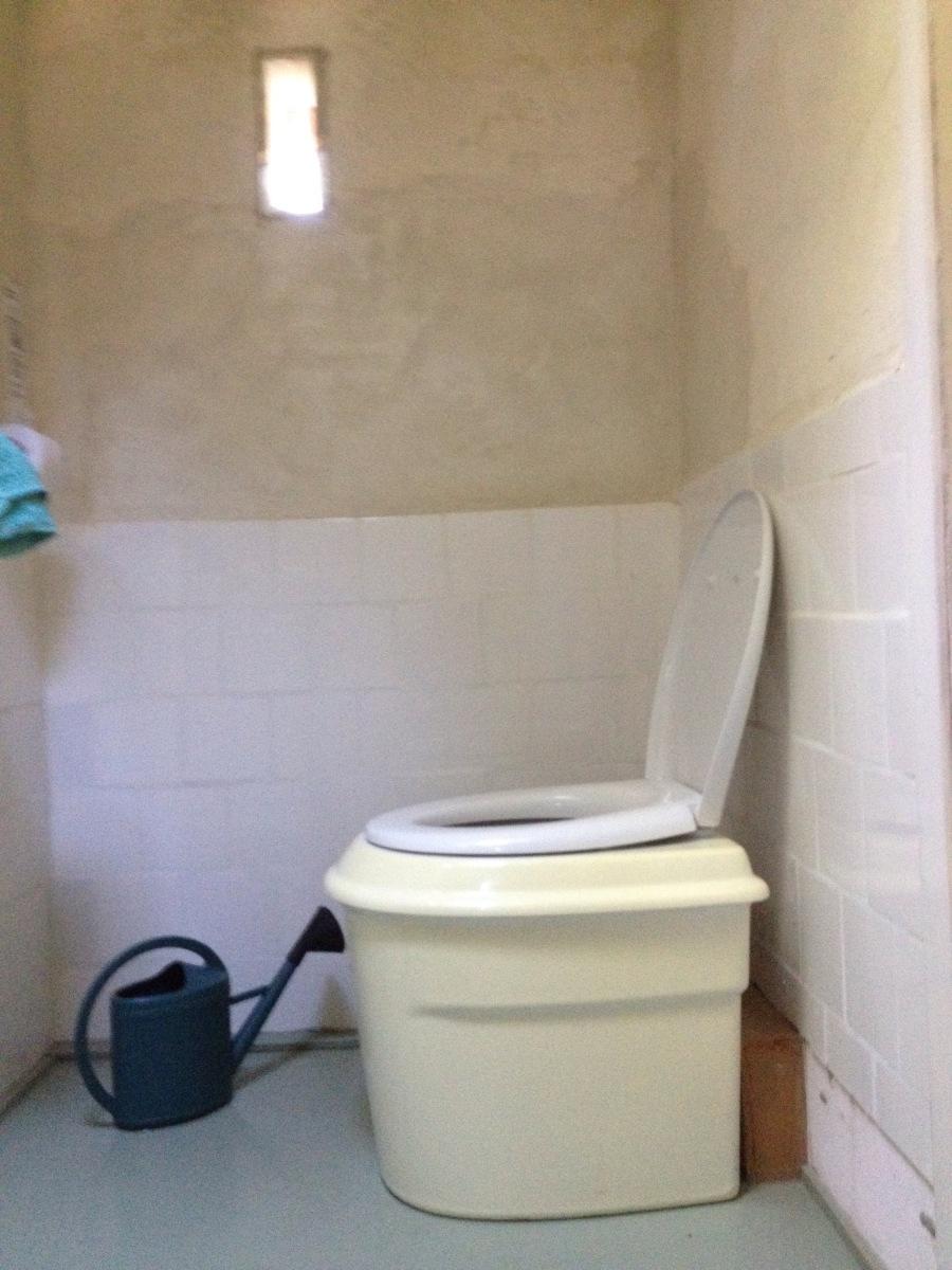 Het eco- toilet