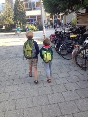 eerste schoolweek