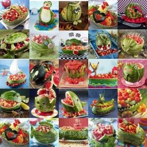Otje's watermeloen- feestje