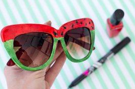 watermelon-sunglasses-diy-tutorial-ehow